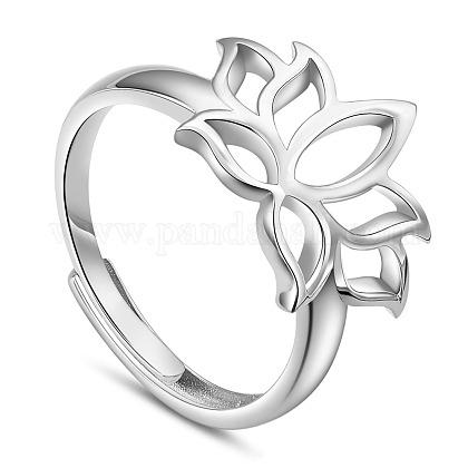 SHEGRACE® Adjustable 925 Sterling Silver RingsJR755A-1