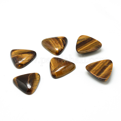 Tigre natural de cabuchones de piedra preciosa del ojoG-T025-10x10mm-11-1