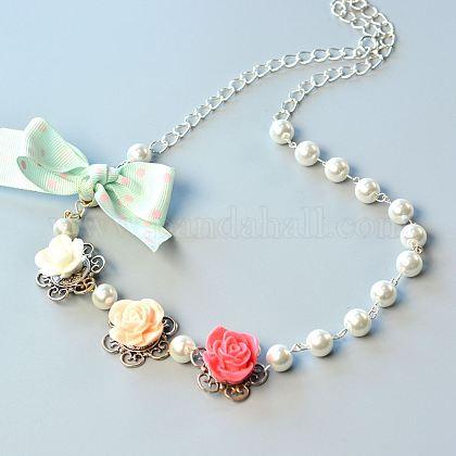 DIY Necklace KitsDIY-JP0003-37-1