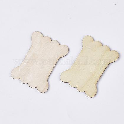 Неокрашенные деревянные намоточные доскиWOOD-T011-53A-1