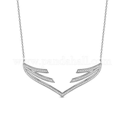 SHEGRACE® 925 Sterling Silver Pendant NecklaceJN602A-1