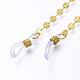 Cadenas de latón cadenas para anteojosAJEW-EH00031-2