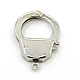 304 Stainless Steel Handcuff ClaspsSTAS-D009-01-1
