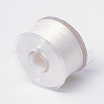 Special Coated Polyester Beading Threads for Seed Beads, Linen, 0.1mm; about 50yards/roll