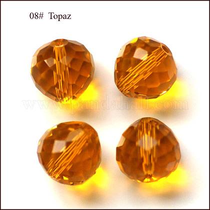 Imitation Austrian Crystal BeadsSWAR-F067-10mm-08-1