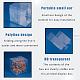 Transparent Plastic PVC Box Gift PackagingCON-WH0052-6x6cm-3