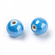 Handmade Porcelain Beads X-PORC-D001-14mm-M-3