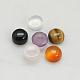 Cabuchones de piedras preciosasG-H1598-FR-4x2mm-M-1