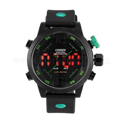 Fashion Plastic Men's Electronic WristwatchesWACH-I005-01C-1