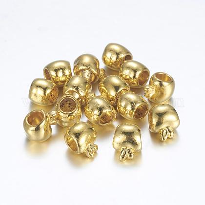 Большое отверстие тибетский стиль металлические шарики европейцаX-TIBEB-R033-G-FF-1