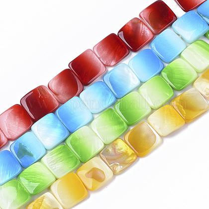 Pintura en aerosol encantos de conchas de agua dulceSHEL-T013-005-1