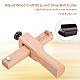 Adjustable Leather Craft Cutter Strap BeltTOOL-WH0048-04-6