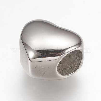 304 Stainless Steel European BeadsSTAS-G164-58P-1