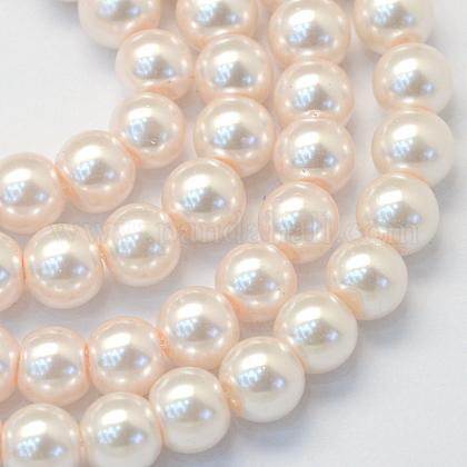 Выпечки окрашенные нити шарик стекла жемчужныеHY-Q003-3mm-41-1