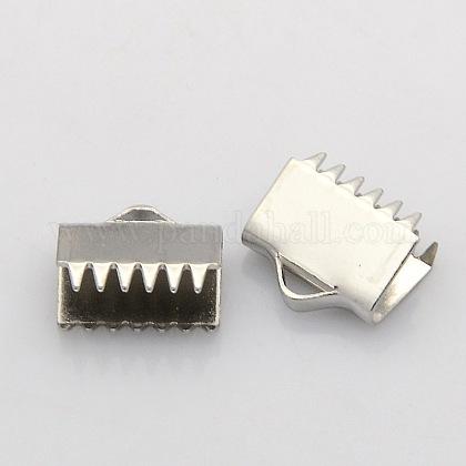 304のステンレス·スチール製のリボン·クランプ端STAS-N024-07-1