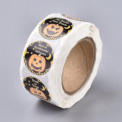 Rollo de halloween pegatinasDIY-J002-B08-1