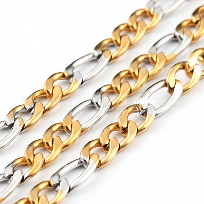 Cadenas de 304 acero inoxidable figaroCHS-B001-27-1