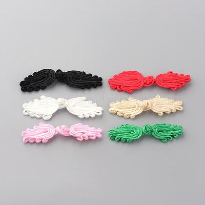 Handmade Chinese Frogs Knots Buttons Sets BUTT-S020-03-1