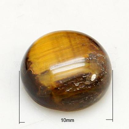Cabuchones de piedras preciosasG-H1596-FR-10mm-07-1