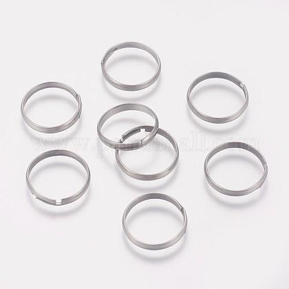316 configuración de anillo de dedo de acero inoxidable quirúrgicoX-STAS-I090-02P-1