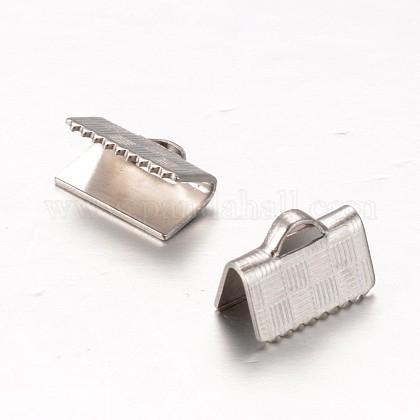 304 embouts à sertir en ruban en acier inoxydableSTAS-E111-01P-1