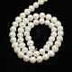 Hebras de perlas de agua dulce cultivadas naturales de grado aaaPEAR-L001-C-13-3