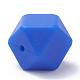 Abalorios de silicona ambiental de grado alimenticioSIL-Q009A-34-2