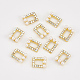 Cabochons Diamante de imitación de la aleaciónMRMJ-T013-20B-1