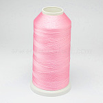 Nylon Thread, For Tassel Making, Pink, 0.3mm, about 1000m/roll