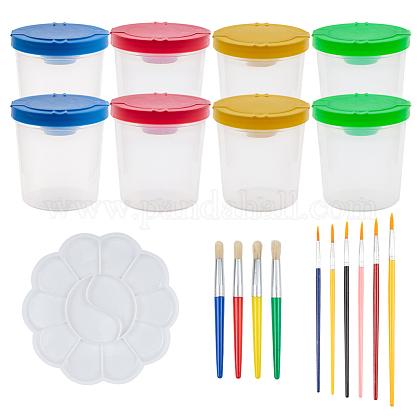 Plastic Pen Cup SetsDIY-BC0001-14-1