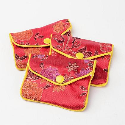 Red Zip Pouches BAG01-1-1
