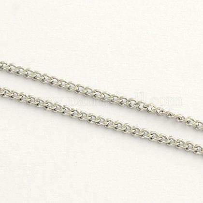 Cadenas de acero inoxidable trenzadosCHS-Q001-05-1
