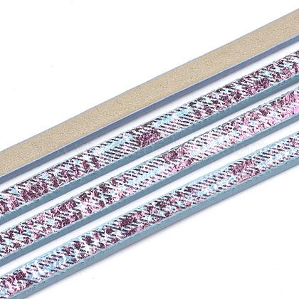 フラット片面模造レザーコードLC-T003-03B-1