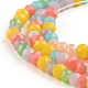 Faceted Glass Beads StrandsGLAA-G074-A01-3