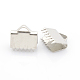 Embouts clip rubans en 304 acier inoxydableX-STAS-J011-08-1