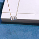 925 Sterling Silver Pendant NecklacesNJEW-BB34815-P-1