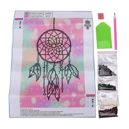 DIY Diamant Malerei Leinwand Kits für KinderDIY-F059-04-1
