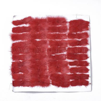 Faux Mink Fur Rectangle DecorationFIND-S320-01B-06-1