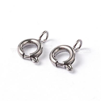 304 пружинное кольцо с гладкой поверхностью из нержавеющей сталиSTAS-D149-02-1