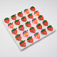Kid's Strawberry Silicone Led Brooches JEWB-R006-12-1