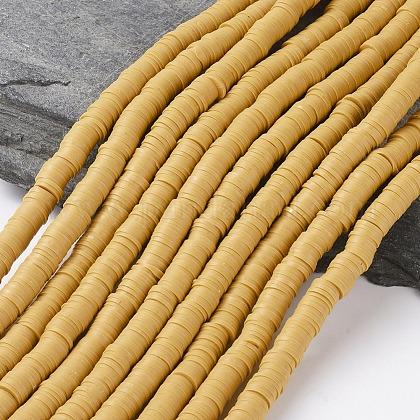Abalorios de arcilla polimérica hechos a manoCLAY-R067-8.0mm-37-1