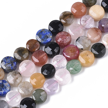 Natürlichen gemischten Steinperlen SträngeX-G-S362-023-1
