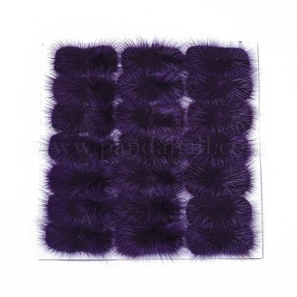 Faux Mink Fur Rectangle DecorationFIND-S320-01A-02-1