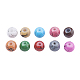 Drawbench Baking Painted Glass Beads GLAD-JP0001-02-4mm-2