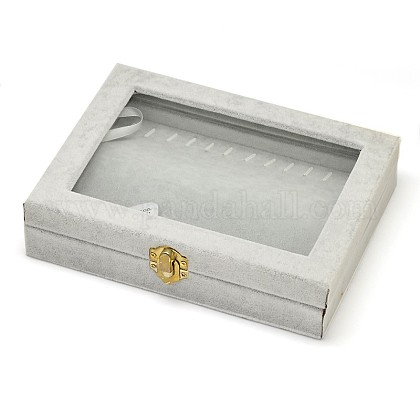 Wooden Rectangle Jewelry BoxesOBOX-L001-05A-1