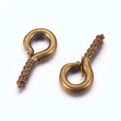 Iron Screw Eye Pin Peg BailsX-E561Y-AB-FF-1