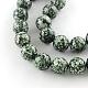 Perles rondes en jaspe tache verte naturelleG-R333-20mm-01-1