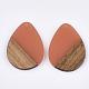 Colgantes de resina y madera de nogalRESI-S358-95-3