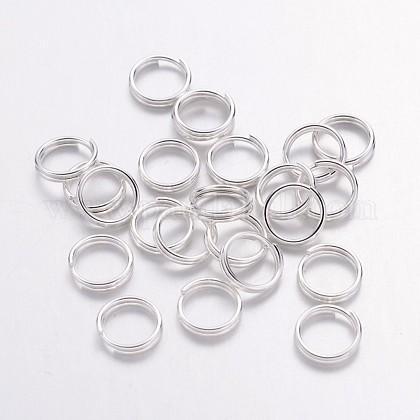 Серебряные кольца с покрытием из железаX-JRDS7mm-1