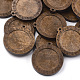 Wooden Pendant Cabochon SettingsWOOD-S044-09D-2